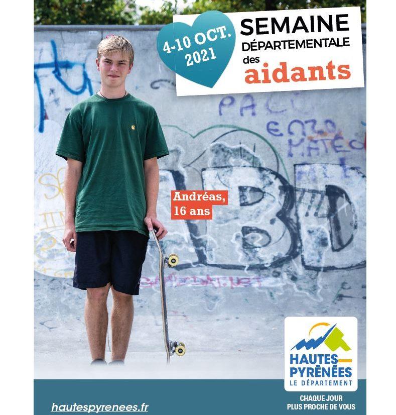 Hautes-Pyrénées : la semaine des aidants du 4 au 10 octobre 2021
